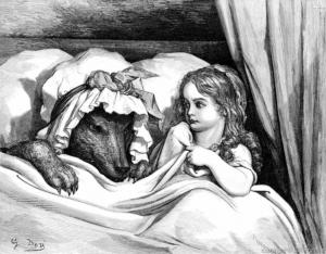 caperucita roja-doré-cuentos tradicionales
