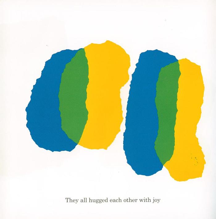 leo lionni-azul y amarillo