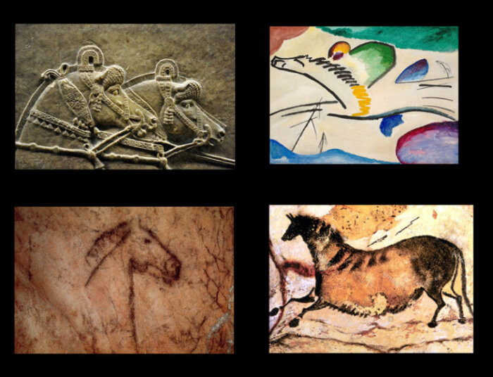 Descrizione: Macintosh HD:Users:migueltanco:Desktop:curso historia del arte:arte prehistorico:AEC·3:caballos1.jpg